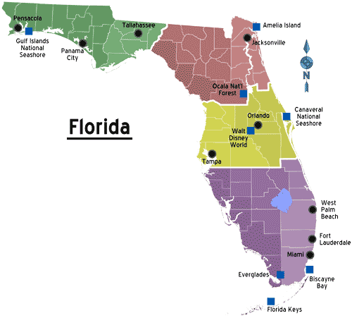 http://mapsof.net/florida/static-maps/png/florida-regions-map-with-cities