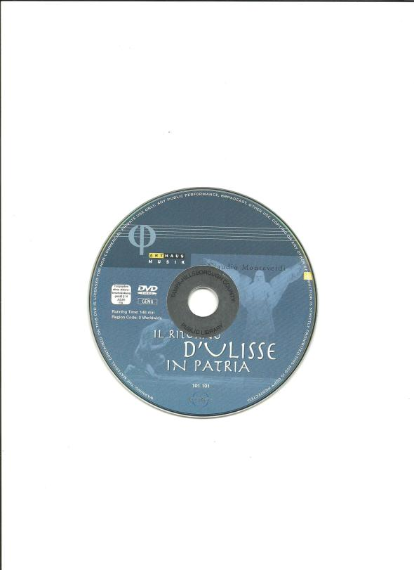 il ritorno d'ulisse in patria_DVD
