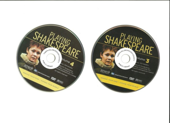 Playing shakespeare_3&_4_DVD